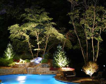 Landscape lighting plano allen frisco richardson dallas