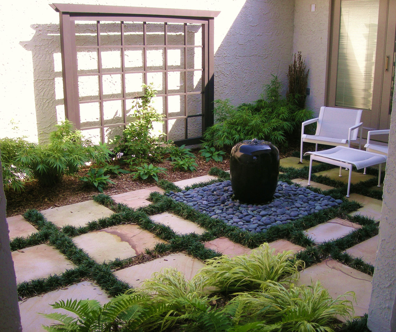 Charmant Water Features Add Tranquility With A Fountain, Pond, Or Waterfall
