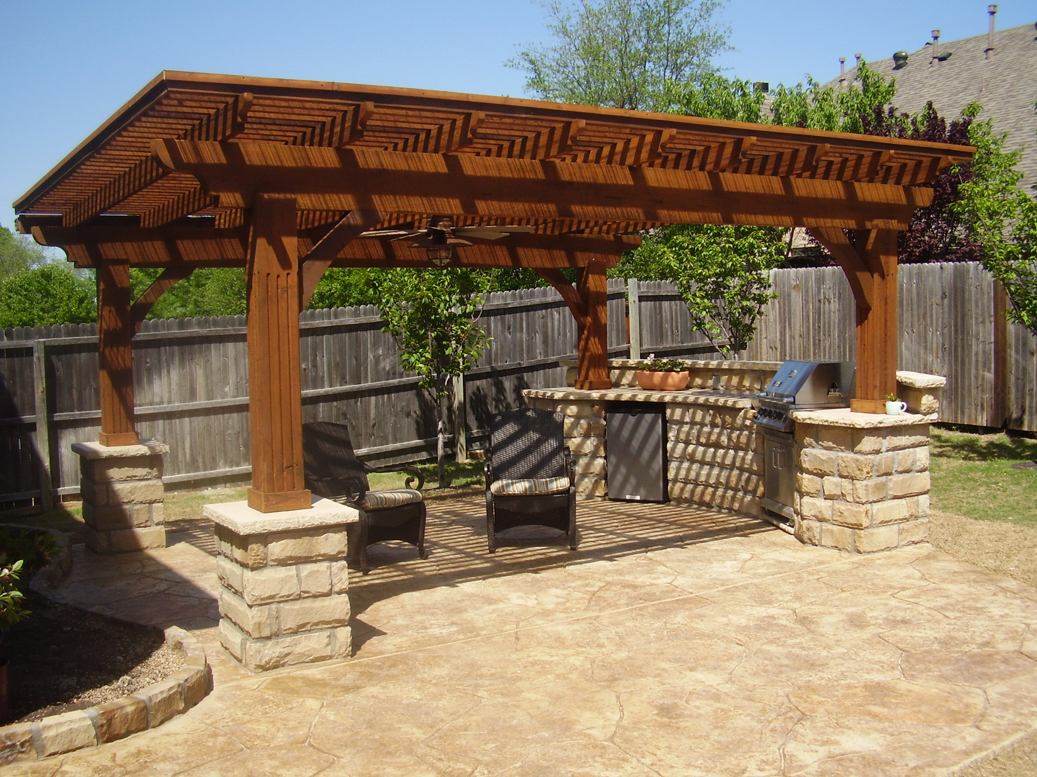Stonework - Patios - Arbors - Pergolas - Outdoor Living - Fire Pits